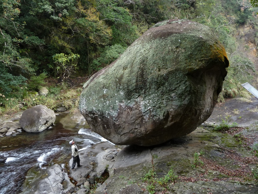The Wind Moving Boulder at Xiaowulai