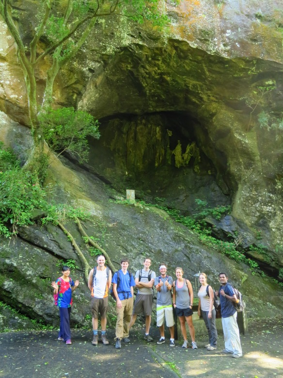 Shiguanyin Cave, at the beginning of the hike