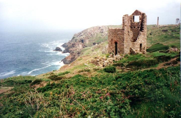 Botallock Tin Mines ruins, day 1