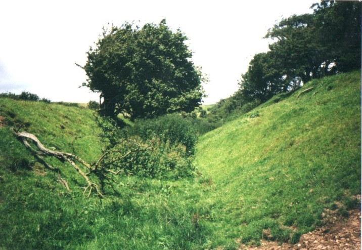 Offa's Dyke, a prehistoric earthwork that stretches the length of the border between England and Wales