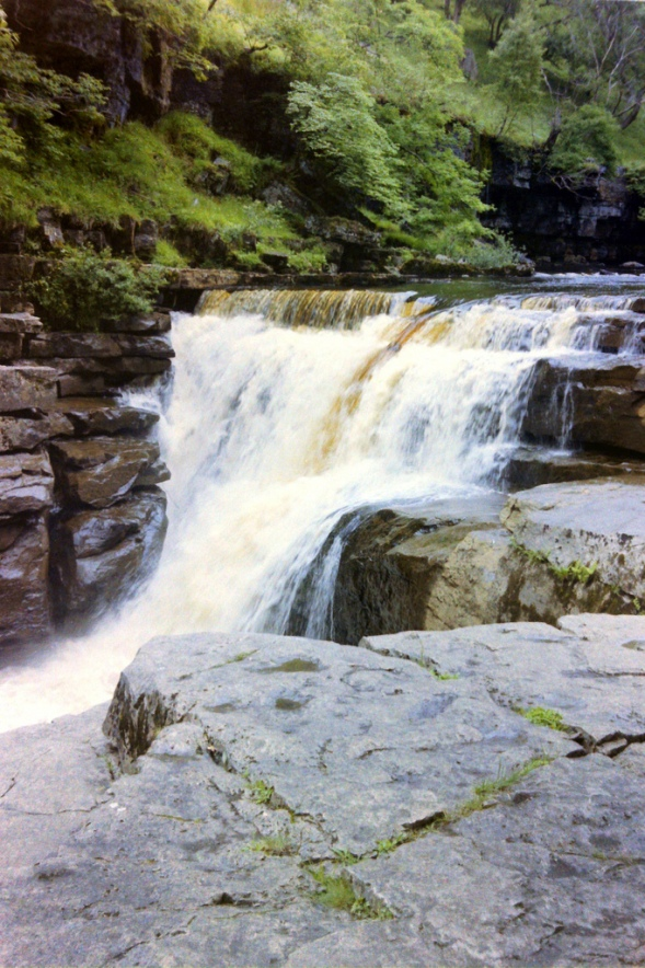 The Fine Kisdon Force lies right beside the Pennine Way (day 54)