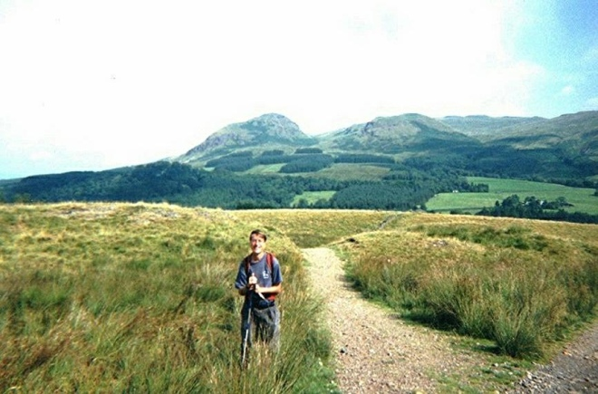 Near the beginning of the West Highland Way (day 79)