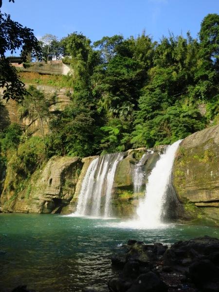 Lingjiao Waterfall, at the start of the walk