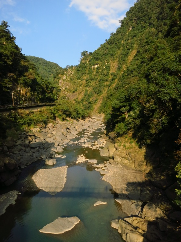 The gorge of the Nanshih Stream, on the way back