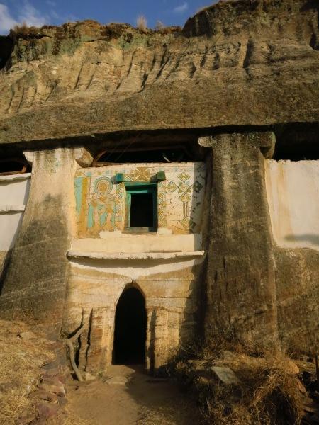 Medhane Alem Adi Kasho rock-hewn church