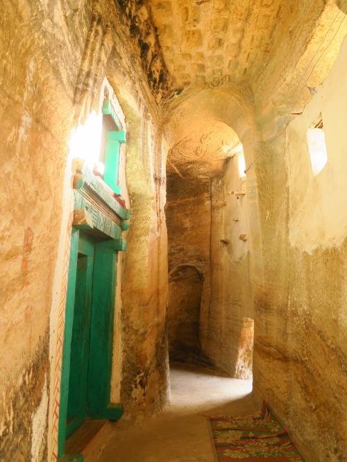 Inside Medhane Alem Adi Kasho church