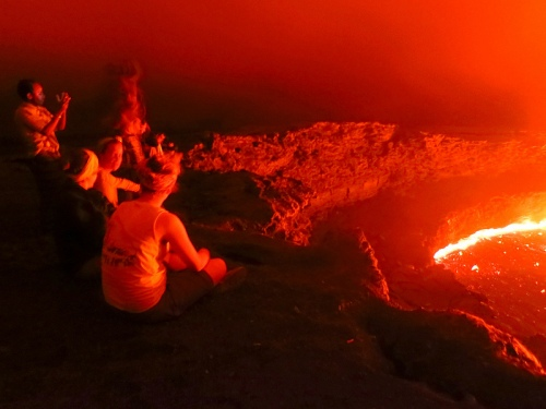 The incredible Erta Ale lava lake
