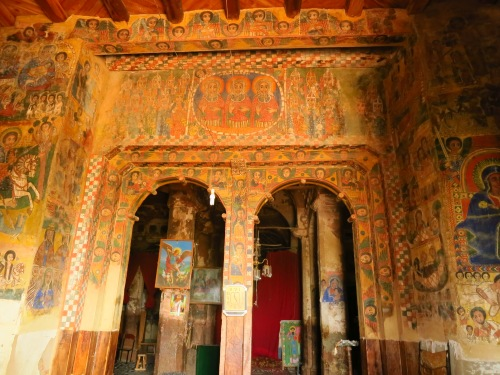 The beautiful Abreha we Atsbeha is often regarded as the finest of the Tigray rock-hewn churches