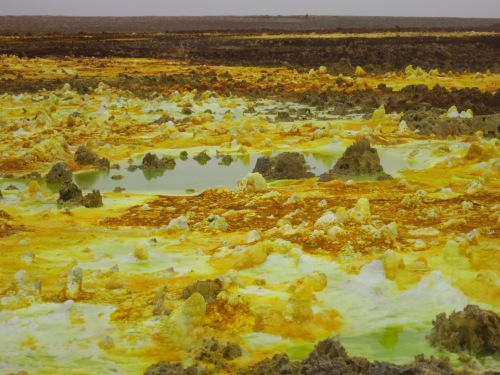 Dallol hot springs