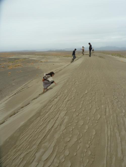 Sand dunes near Hamed Ela