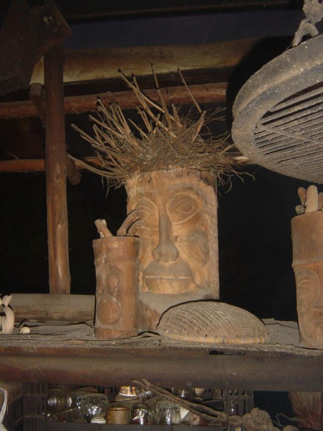 Aboriginal sculpture at Daban, Chiayi County