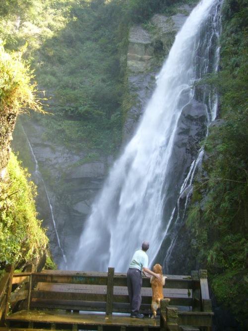 Maliguang Waterfall, Hsinchu Conty