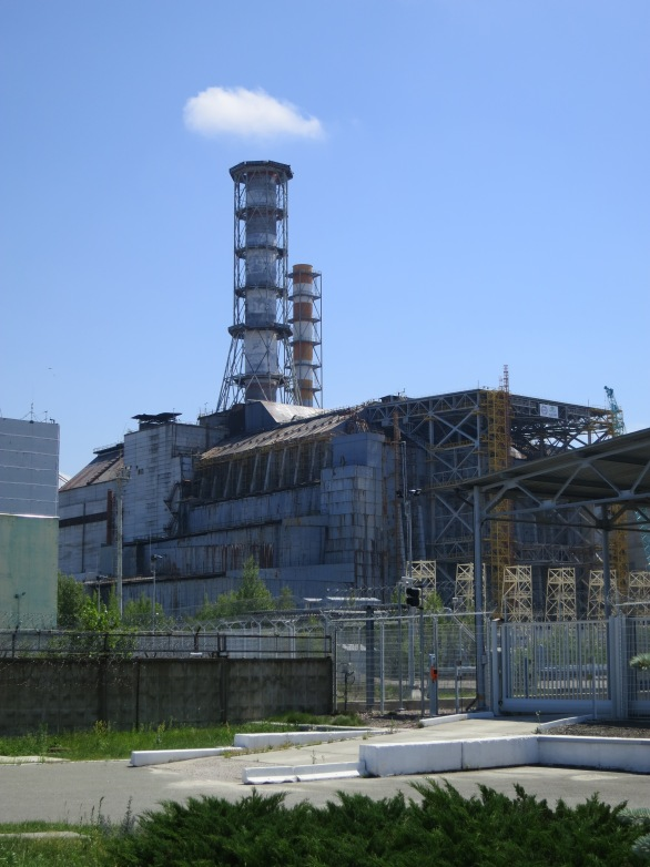 The notorious Reactor Four at Chornobyl