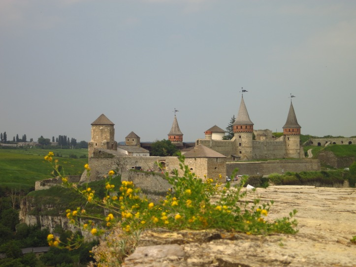 Although the famous fortress at Kamyanets-Podilsky looks great in photos, it was the one 'big' sight in Ukraine that disappointed, because of some very insensitive development around it