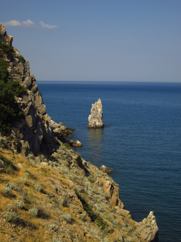 Near Swallow's Nest, Yalta