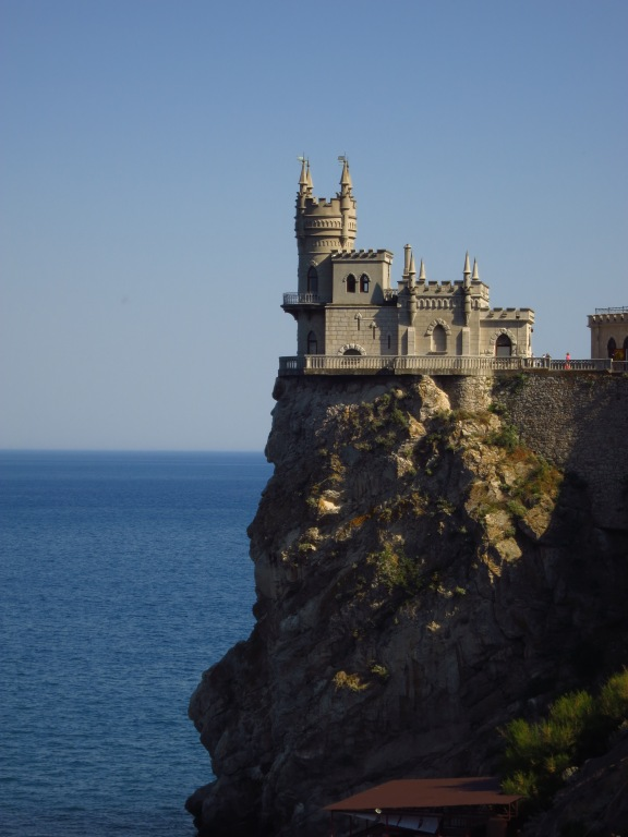 Swallow's Nest (a folly, built in 1912), Yalta