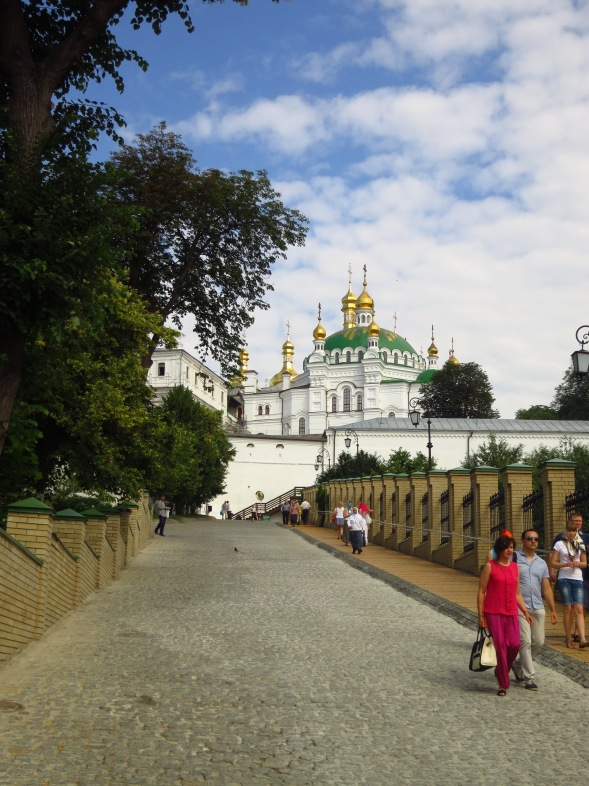 In the Lavra (Caves Monastery)