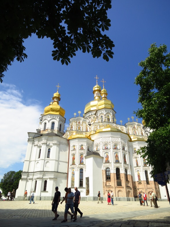 Beautiful Kiev, the capital of UKraine, is just over a hundred kilometers south of Chornobyl
