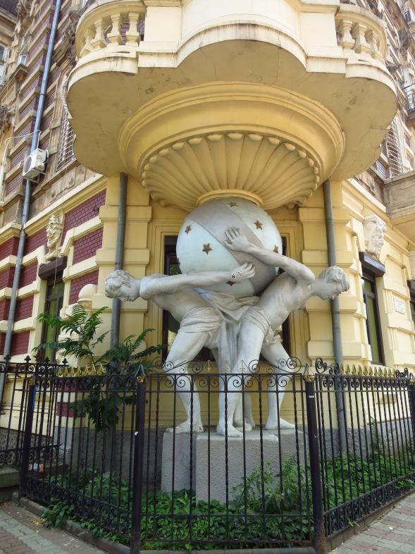 Arte Nouveau architecture in Odesa