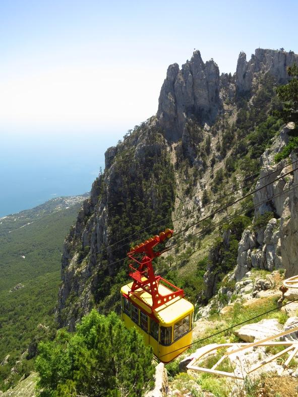 Mt Ay-Petri, Yalta