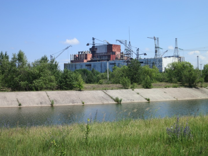 Reactors Five and Six were abandoned, unfinished, after the accident and contain no nuclear fuel