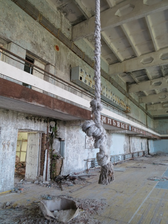 Gym at Prypyat