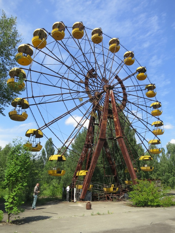 The (never used) Ferris wheel