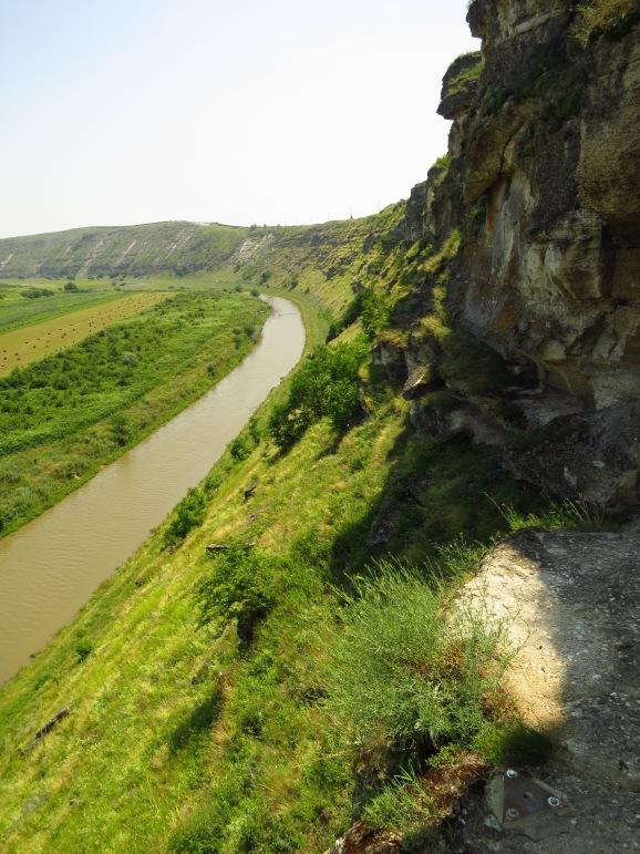 The beautiful gorge of Orheiul Vechi...