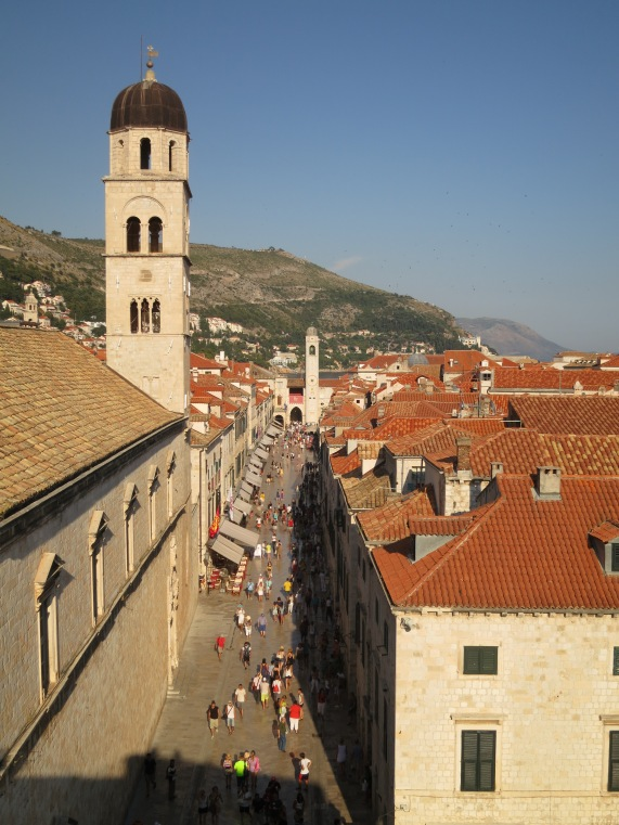 Dubrovnik is expensive, commercialized and overrun with tourists these days; however without a doubt it's also one of the world's most beautiful towns