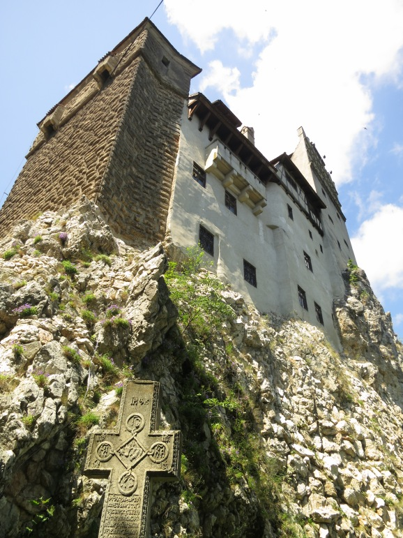 Bran Castle, famous for its association with historical figure Vlad the Impaler (who became the inspiration for Bram Stocker's Dracula)