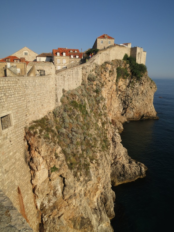 The best place to see Dubrovnik is from the city walls, regarded as the finest in the world