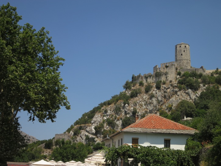 The old fortified town of Pocitelj