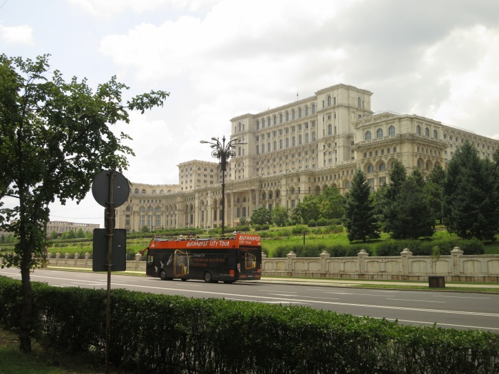 Ceausescu's Palace of Parliament in Bucharest is the second largest building the world, and has to be seen be believed - both inside and out!