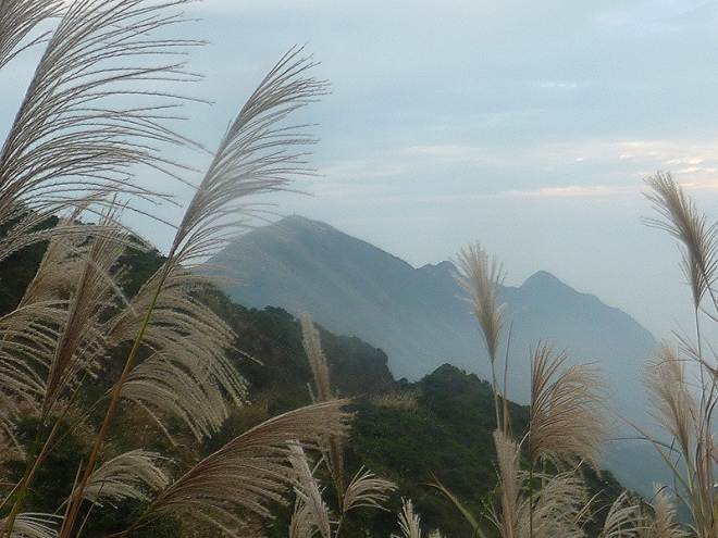 The hike ends at Jiufen, in the shadow of shapely Mount Keelung