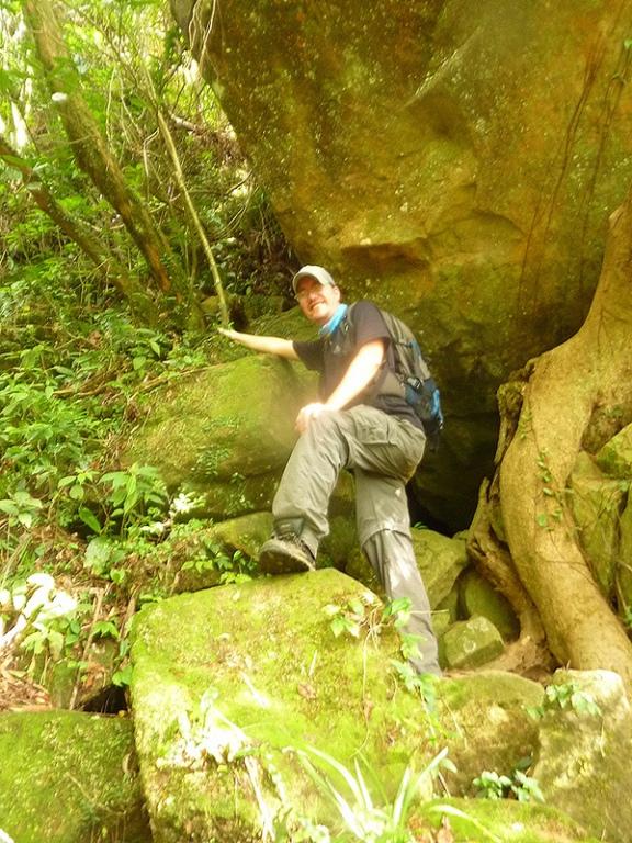 Below Mount Sandiaoling