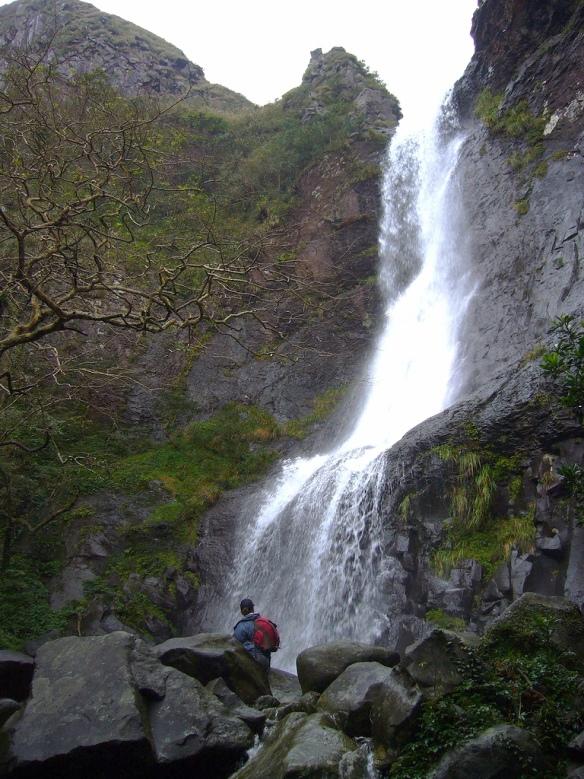 Alibang Waterfall, Yangmingshan's highest at 40 meters