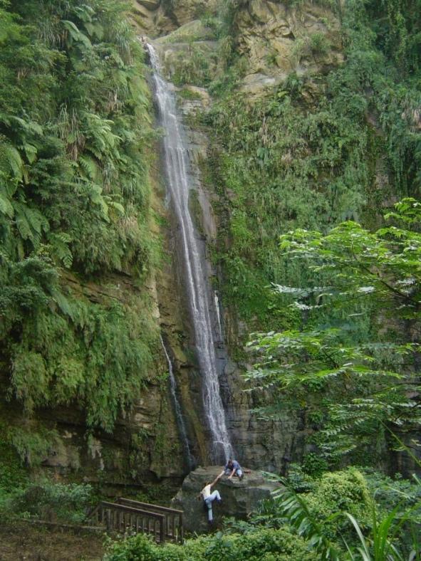 Changqing Waterfall, Zhanghu Scenic Area, Yunlin County