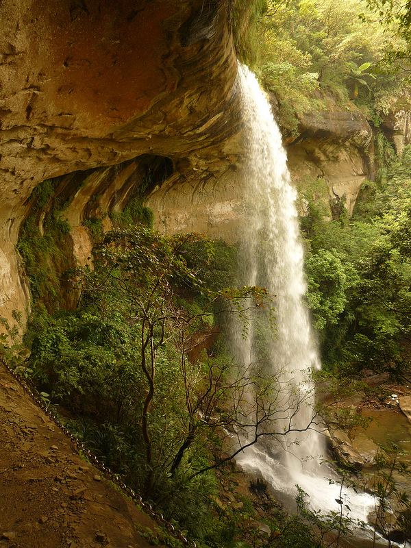 Pipa Cave Waterfall