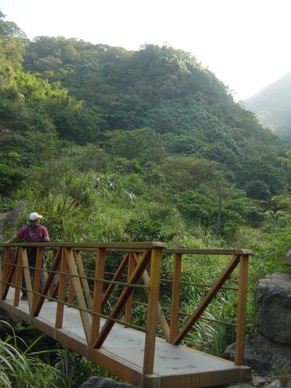The scenic Xiaozukeng Old Trail