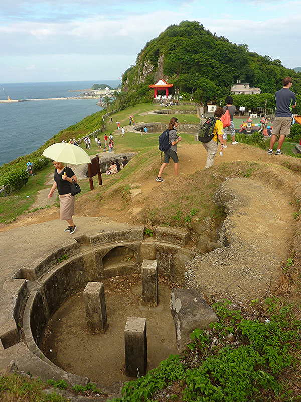 Baimiwong Fort commands another great view over the ocean