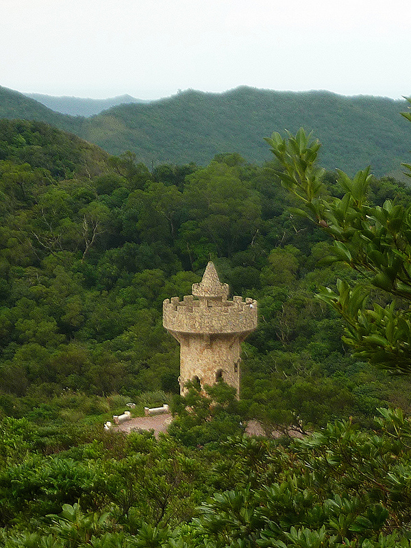 The viewing tower at Lovers' Lake