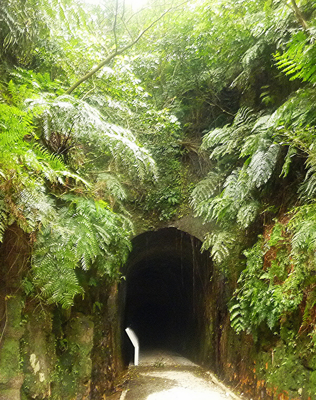 Shihciouling Tunnel, the first railway tunnel in China (dug in 1890)