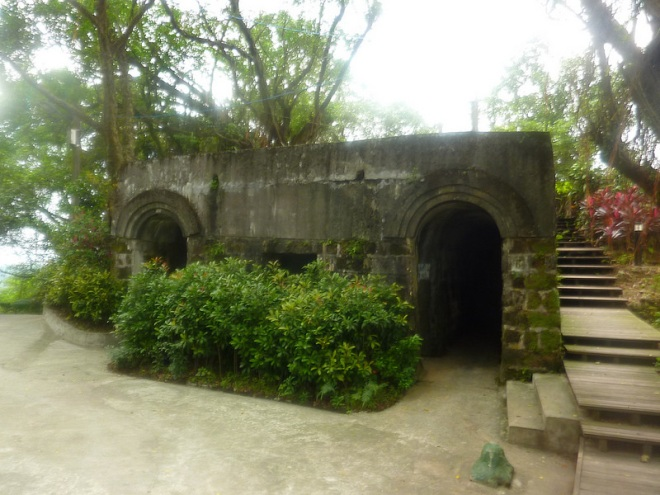 The restored Qing Dynasty Shihciouling Fort