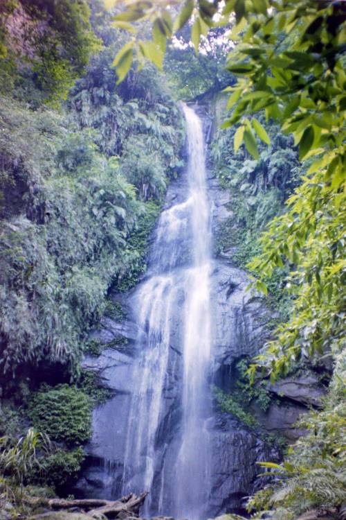 The waterfall in 1993