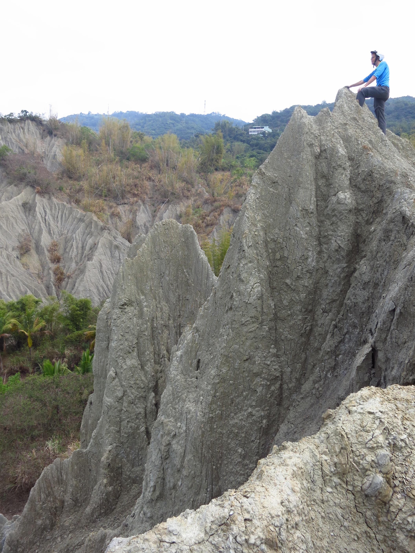 Badlands near Yanqiao