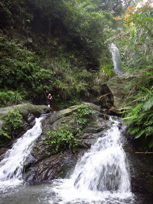 Below Shizitou Waterfall