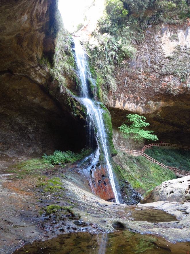 The wonderful Songlong Waterfall