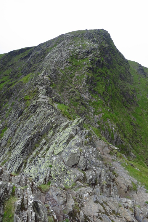 Sharp Edge, the most exciting ascent route up Blencathra