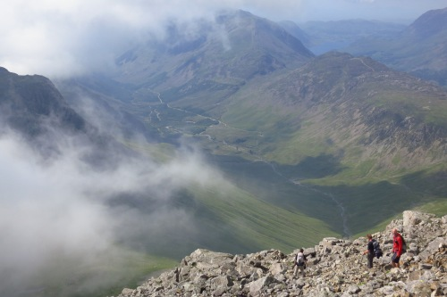 On top of Great Gable