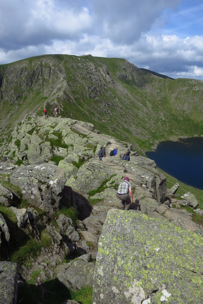 Helvellyn from Striding Edge